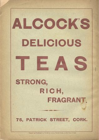 Alcock's Teas, JCHAS 1892